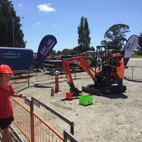 Have a go digger activity