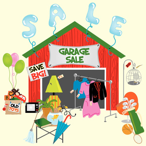 Winton Wide Garage Sale day