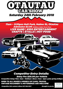 Otautau Car Show