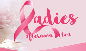 Pink Ribbon Ladies Afternoon Tea