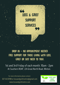 Loss & Grief services now available