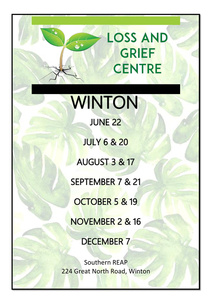FREE Loss and Grief services in Winton.