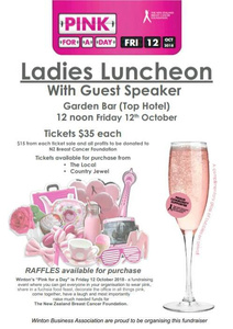 Pink Ribbon Ladies Luncheon