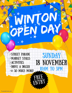 Winton Open Day