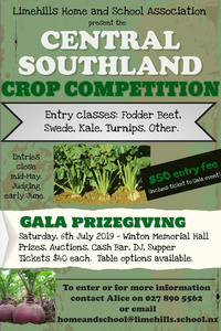 Central Southland Crop Competition