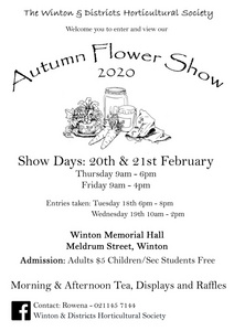 Winton Horticultural Flower Show