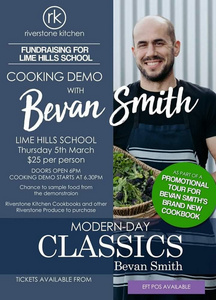 Bevan Smith Cooking Demo